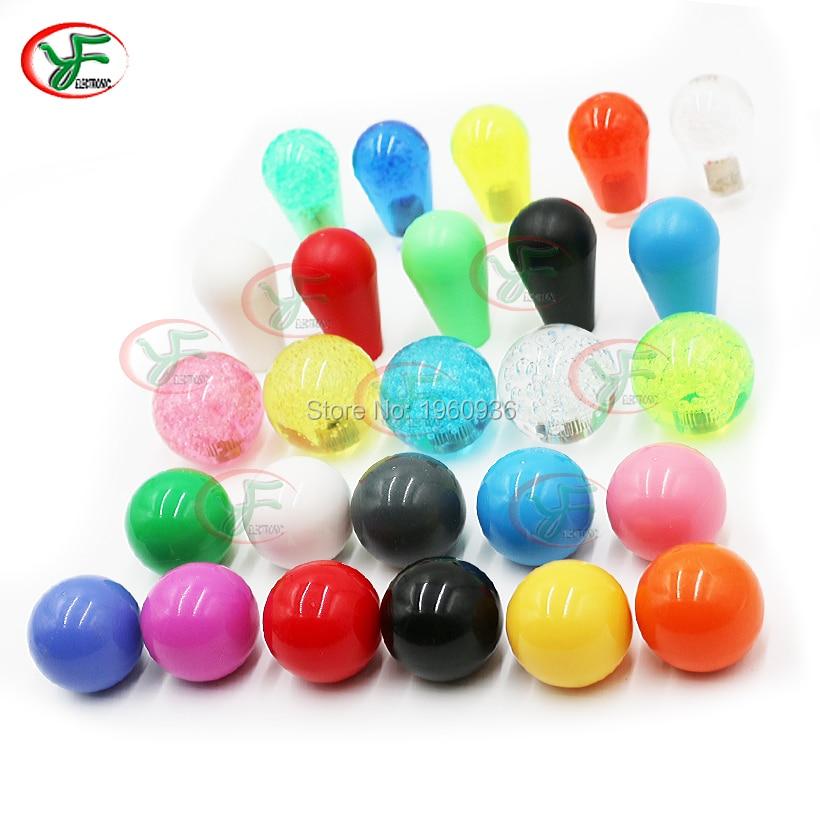 1 pcs Replacement TopBall Bat top ball Round for Arcade ZIPPY SANWA SEIMITSU Jamma Arcade Joystick(China)