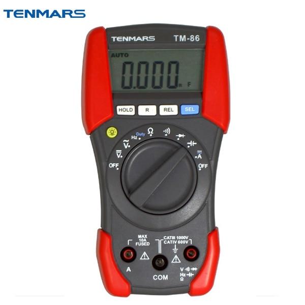 TM-86 Digital Portable MultimeterTM-86 Digital Portable Multimeter