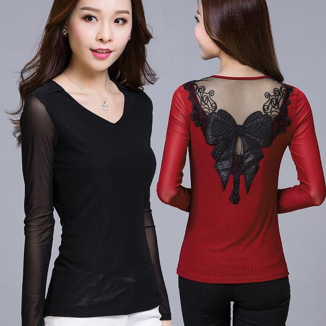 summer shirts women sexy shirts plus size long sleeve butterfly