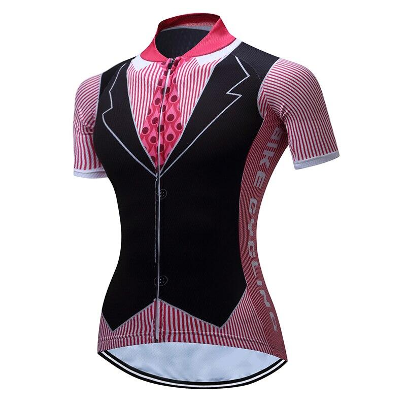 Ποδηλασία γυναικών jersey 2018 pro ομάδα - Ποδηλασία - Φωτογραφία 3