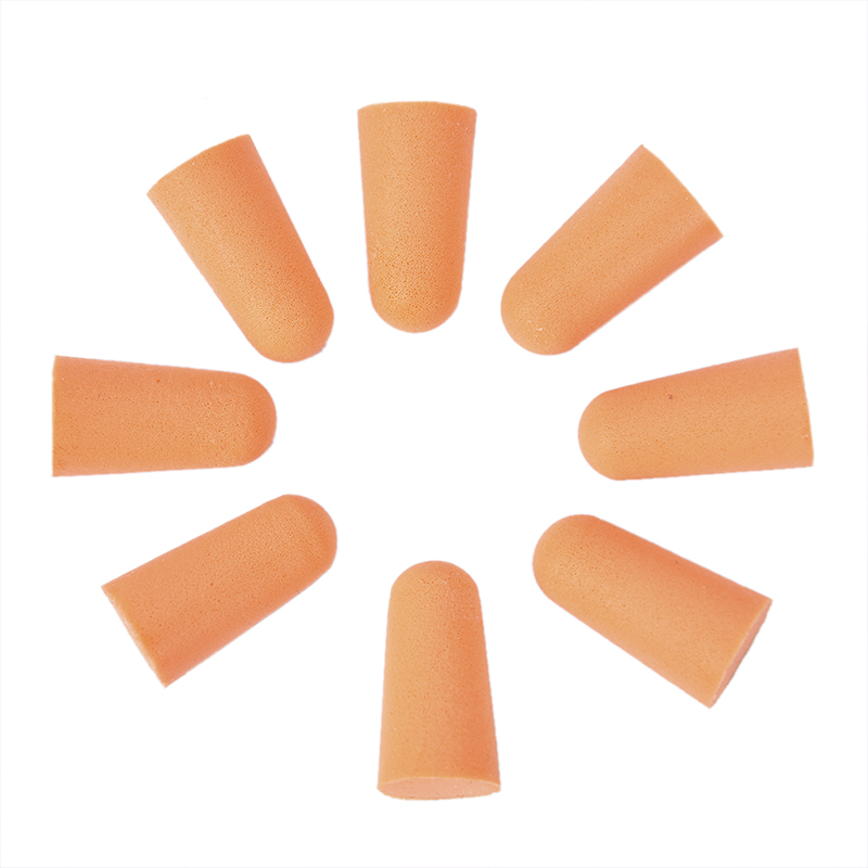 20Pcs/1Pc Silicone Soft Ear Plugs Swimming Silicone Earplugs Protective For Sleep Comfort Earplugs Noise Reduction
