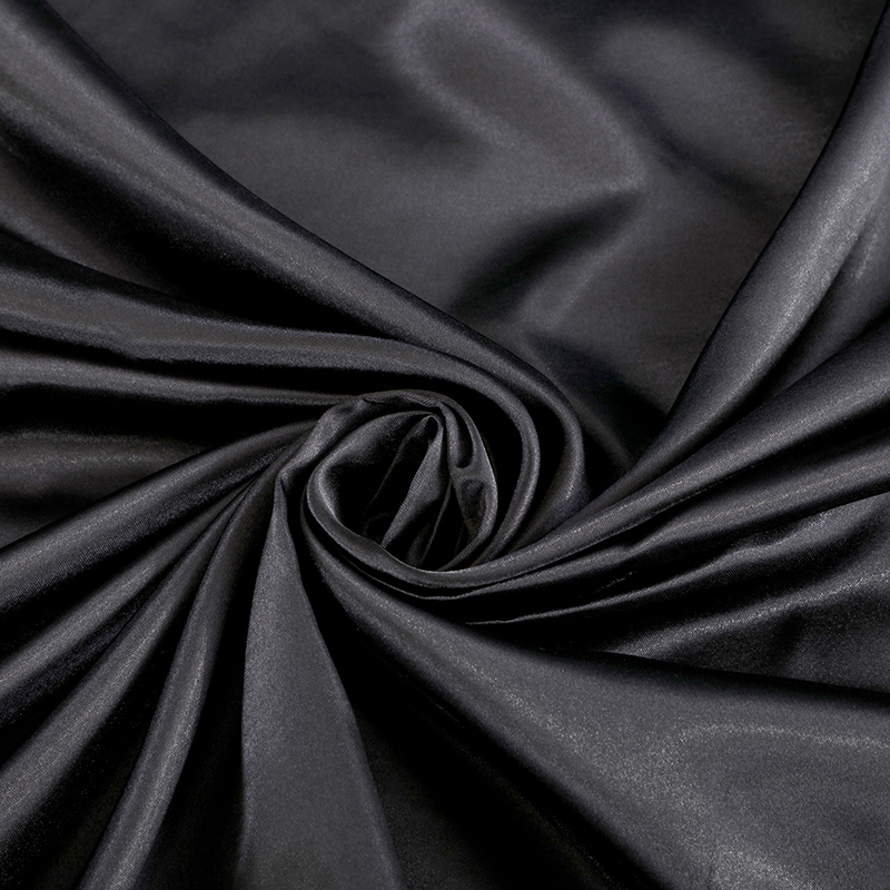 Liv Esthete Luxury Black Satin Silk Bedding Set Silky Duvet Cover Flat Sheet Pillowcase Double Queen King Bed Set Wholesale in Bedding Sets from Home Garden