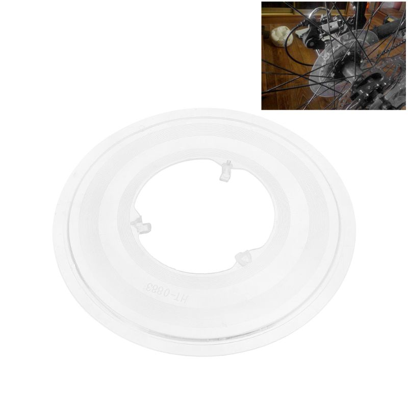 Bicycle Disc Brake Cover Steering Wheel Flywheel Protection Cassette Hub Support