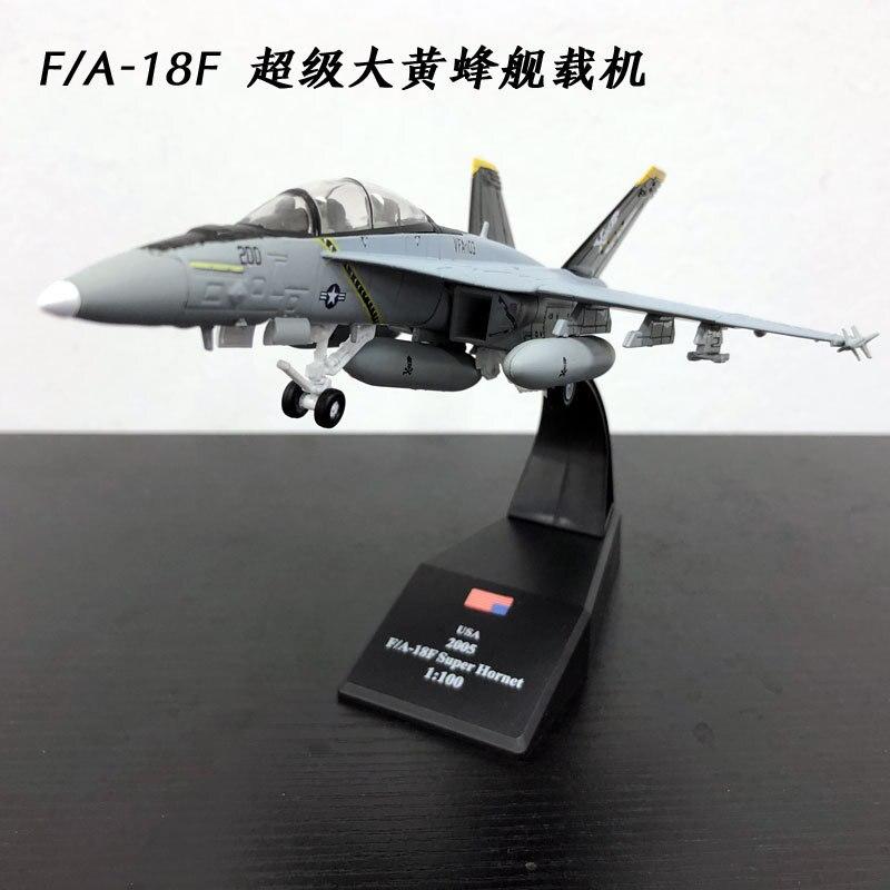 3 шт./лот Оптовая Амер 1/100 Весы Военная униформа модель Игрушечные лошадки США f/A-18F Супер Хорнет боец литья под давлением Металл самолета Мод... ...