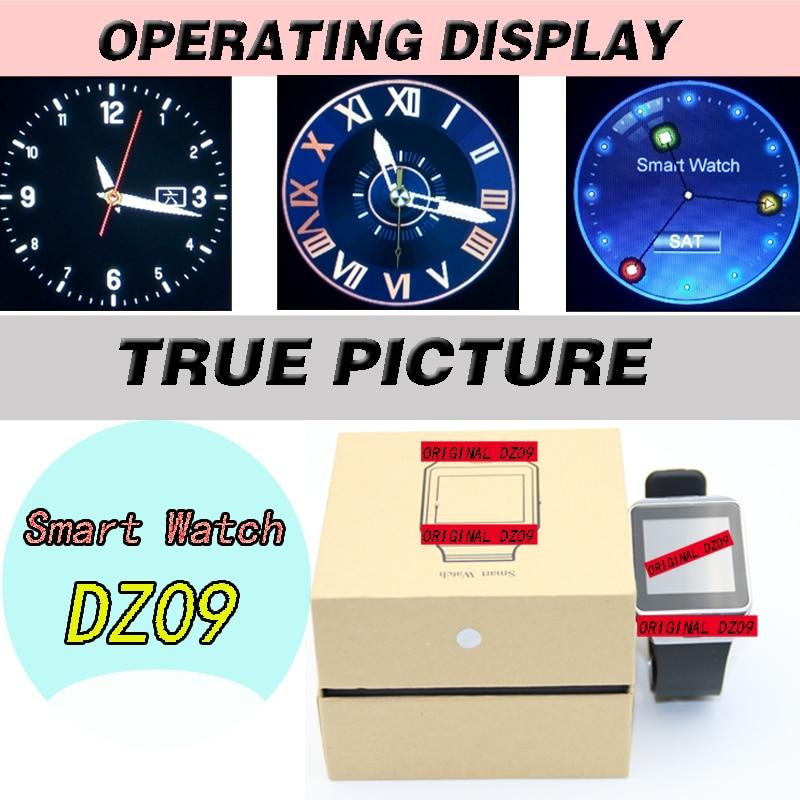 DZ09 Bluetooth smart klocka telefonsamtal armband W8 a8 WristWatch - Smart electronics