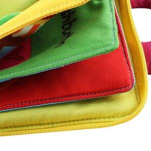 Image 5 - Livres pour enfants calme éducation précoce Estimulacion éclairage sensoriel couleur pratique mains livre en tissu ressources dapprentissage