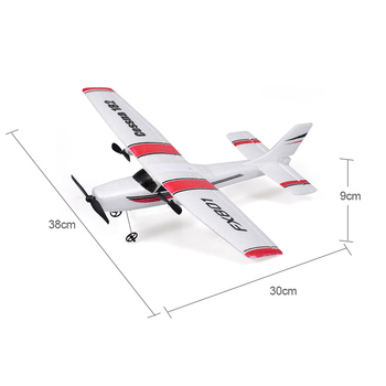 FX801 RC Plane Cessna 182 2.4GHz 2CH RC Airplane Durable 20 Minutes Flying Time Outdoor RC Aircraft Model Toys for Beginner 5