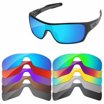 PapaViva POLARIZED Replacement Lenses for Authentic Turbine Rotor Sunglasses 100% UVA & UVB Protection - Multiple Options papaviva polycarbonate polarized replacement lenses for jawbone vented sunglasses multiple options