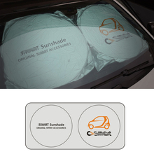 best quality Car Windshield Cover Automobile Sunshade Shield for smart Visor Summer Front Window Windscreen