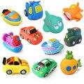 Espátula de borracha Squeeze Som Brinquedos para o Banho de Lavagem Do Bebê Jogar Animais Brinquedos Para As Crianças Animal Spray de Água 7*5*4 CM