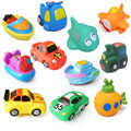 Rubber Float Squeeze Sound Baby Wash Bath Toys Play Animals Toys  For Children Water Spray Animal 7*5*4CM