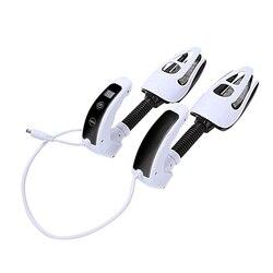 Elektryczne buty suszarka dezodorant buty sterylizacji UV urządzenie jakości piec suszarka do butów z ozonu ekran LED zegar przełącznik dotykowy w Półki i organizatory na buty od Dom i ogród na