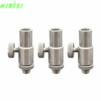 Stainless Steel Quick Release Connector For Carp Fishing Alarms Rod Pod Bank Sticks