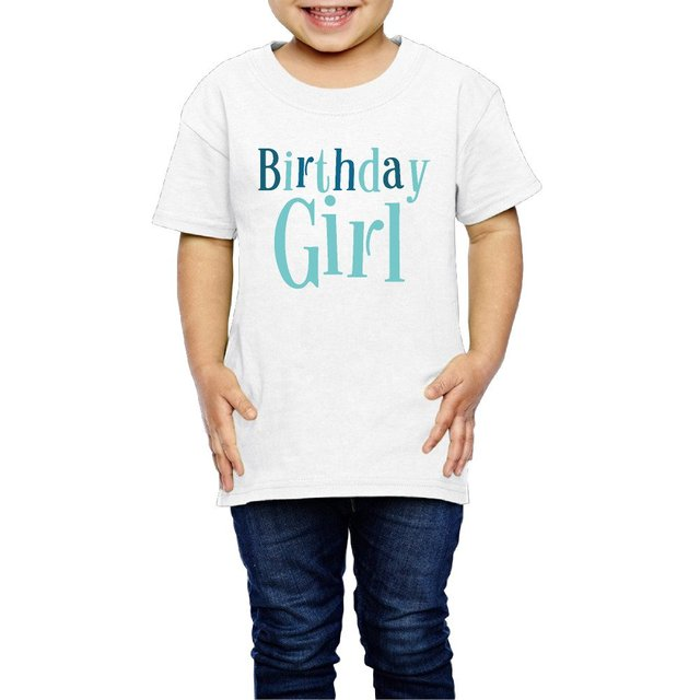 Summer Birthday Girl Gift Ideas Kids Clothing Baby Boys Girls T Shirt Short Sleeve Tee