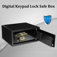Digital safes box for Fire Drill Resistant Ideal for Home Office use Safety Security Box keep Cash Jewelry or Documents Securely