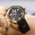 Top Quality Curren 8167 Mens Relógios Esporte Casual Movimento Importado Silicone Strap Relógio À Prova D' Água Reloj Relogio masculino Quente
