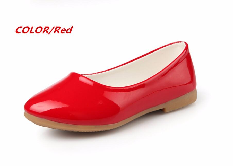 girl leather shoe-36