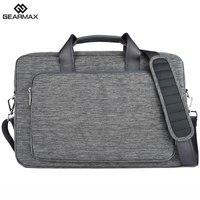 2017 GEARMAX Ordinateur Portable Sac 13 14 15 17 D'ordinateur Portable En Nylon Imperméable cas Hommes de Portable Sac pour Macbook Air 13 Pro Femmes Messenger sacs