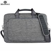 2015 Gearmax High Quality Gray Laptop Bag 13 Waterproof Nylon Laptop Case 13 3 Men S