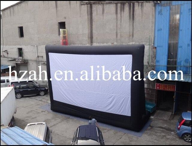 Гигантская надувная пленка экран для продажи