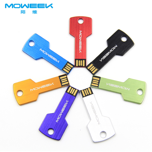 MOWEEK M05 USB flash drive 4/8/16/32/64GB Memory Stick USB Pen Drive USB 2.0 Flash Memoria gift key USB Stick