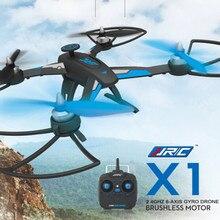 Drone RC Quadcopter Drone JJRC X1 2017 Baru Profesional Dengan D1806-2280KV Brushless Motor 2.4G 4CH 6-Axis 360 Derajat VS H11D