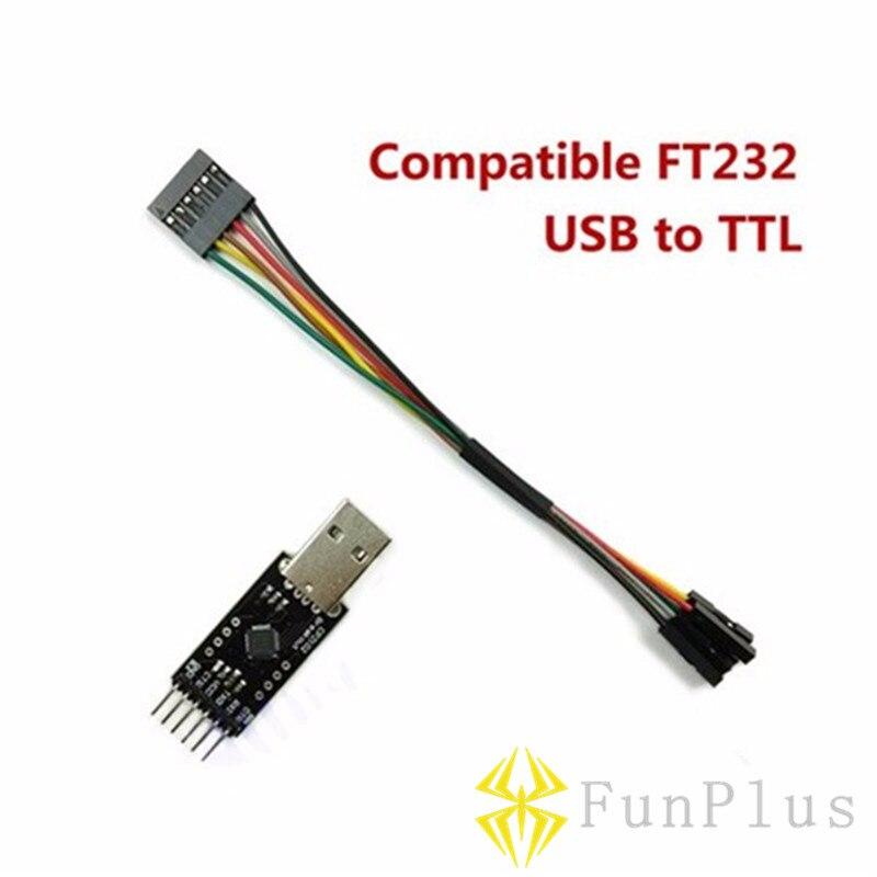 USB To TTL Compatible FT232 FTDI OSD MWC Digital Debugger for Smart Fight Controller Data Transmission Bluetooth Module MiniOSD