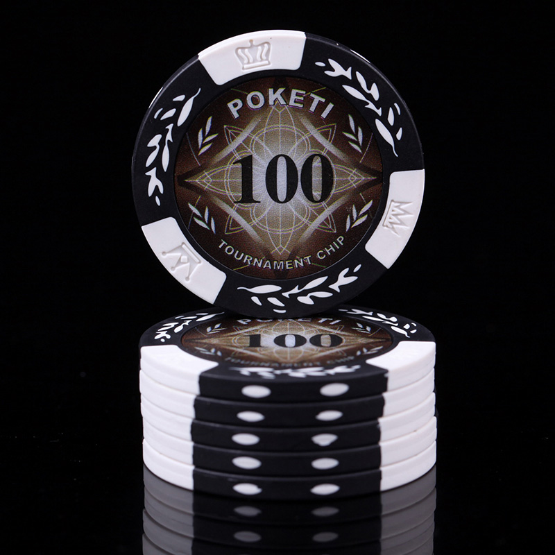 20 PCS/LOT Poker Chips 11 Colors 14g Clay/Iron 40*40mm Wheat Chips Texas Holdem Poker Wholesale Poker Club Chips