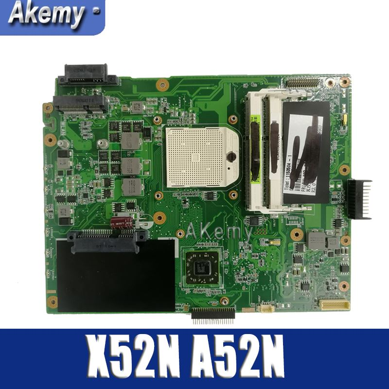 Amazoon  K52N Laptop Motherboard For ASUS K52N K52 X52N A52N Test Original Mainboard