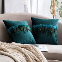 Decorative Luxury Throw Pillow Covers Velvet Elegant Pillow Cases Square Soft Pillow Shams Cushion Covers for Home Decoration цены