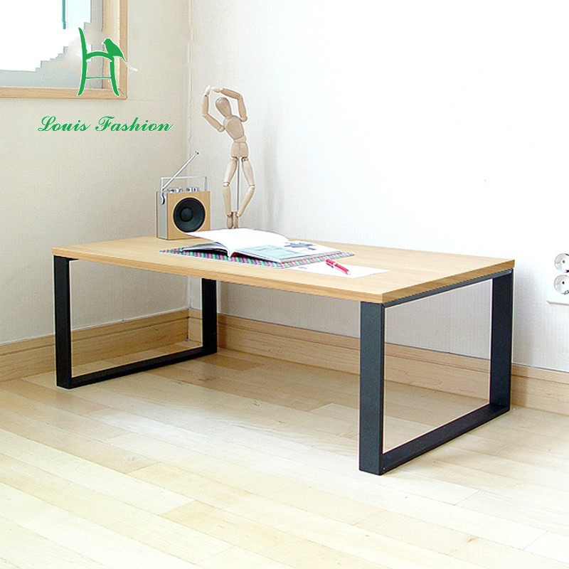 US $49.0 |Louis Fahion 32CM High Table Coffee Table Matting Forth Modern  Sofa Table Simple Steel Wooden Table-in Coffee Tables from Furniture on ...