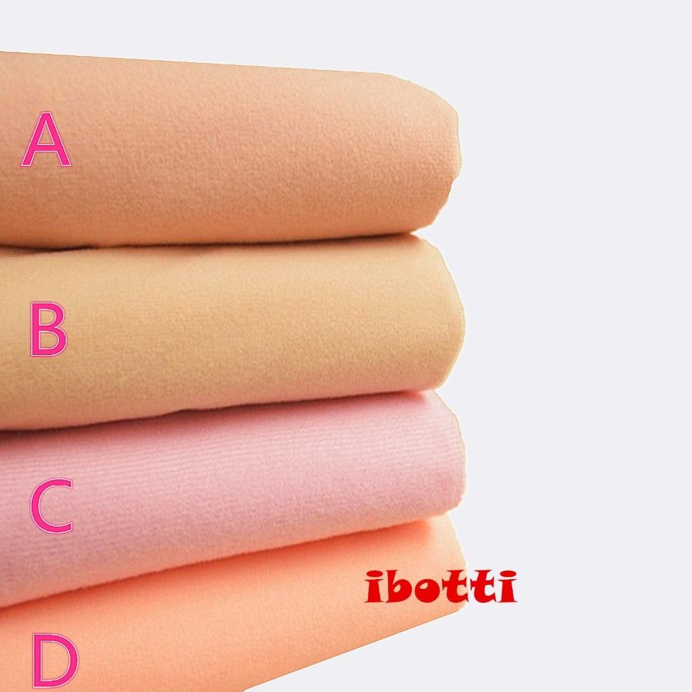 50*148 cm Carne Diy Boneca Tecido de Alta-densidade Da Pele Cochilo Telas Tissus Algodão Patchwork Costura Têxtil Artesanal Costura