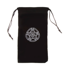 Velvet Pentagram Tarot Card Storage Bag Toy Jewelry Home Mini Drawstring Package Board Game
