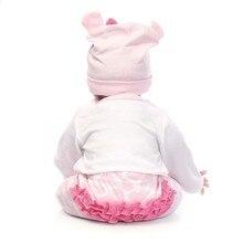 NPK 22″/55cm Silicone Reborn Baby Doll