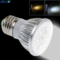 E27 LED Spotlights 4W Work Lights With Warm Cool Color Commercial Lighting For Home Living Room
