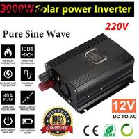 VEHEMO 1000 W LED Automobile Saída De Potência Do Inversor Adaptador Para Carro Inversor Solar Inversor Solar Power Supply Transformer Converter