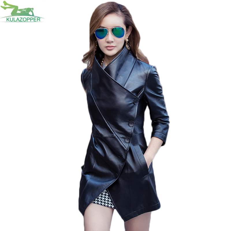 28bcd14bc6d S-3XL-Women-leather-Trench-2017-autumn-new-PU-leather-outwear-casual-black -slim-spliced-three.jpg