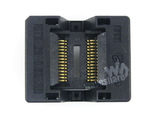 SSOP28 TSSOP28 OTS-28-0.65-01 Enplas IC Test Burn-in Socket Programming Adapter 0.65mm Pitch 4.4mm Width import ots 28 0 65 01 burning seat tssop28 test programming