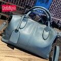 BVLRIGA Дизайнерские сумки высокого качества бостон женщин сумки кожаные сумки известных брендов женщины плеча сумки bolsa