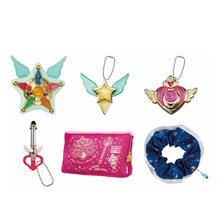 Sailor Moon 20th Anniversary Capsule Goods Deluxe Gashapon Figure Anime Toy Set 100% Original