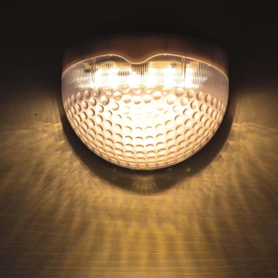 Наружного освещения солнечный свет 6 светодиодный лампы энергосберегающие открытый парк-сад лампы солнечного забор Настенный декор сада с...