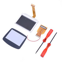 For Gameboy Advance MOD LCD Backlight 32Pin GBA SP AGS 101 Backlit Screen With 2pcs Screwdrivers