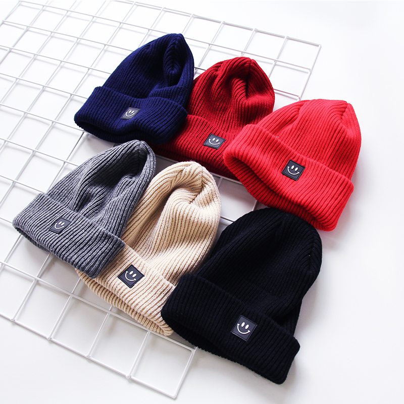 Fashion 2017 New Women Winter Hat Cotton Cartoon Knitted Skuilles Beanies For Boys Girls Brand Warm Hat High Quality Wholesale fashion handpainted palm sea sailing pattern hot summer jazz hat for boys