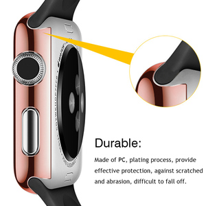Image 3 - Gosear Full Protective Case Cover Skin Shell Screen Protector Film for Apple Watch iWatch Wach iWach Series 1 2 3 38mm 42mm
