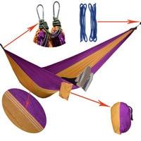 Parachute Hammock Camping Survival Garden Flyknit Hunting Leisure Hamac Travel Double Person Hamak