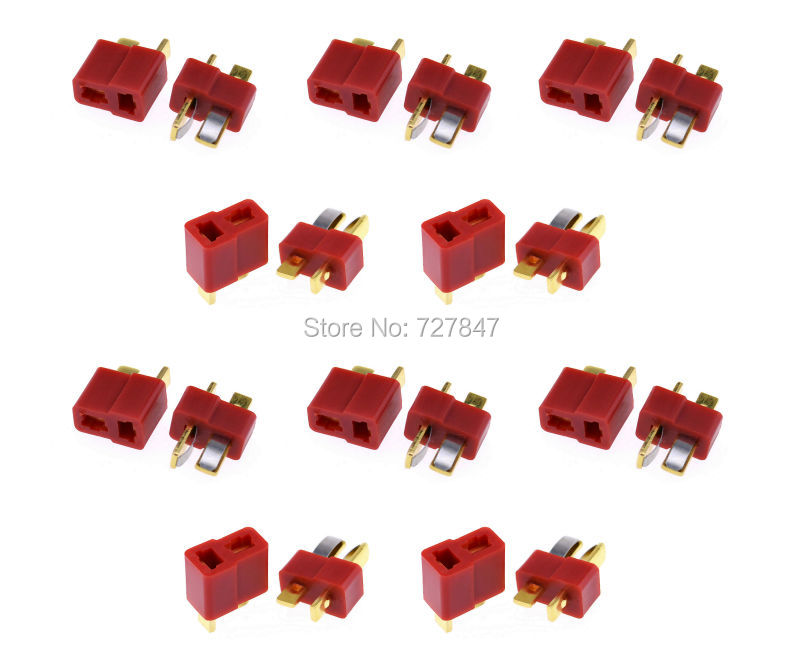 10Pairs Dean Connector T plug For ESC Battery dean spaulding t  program evaluation in