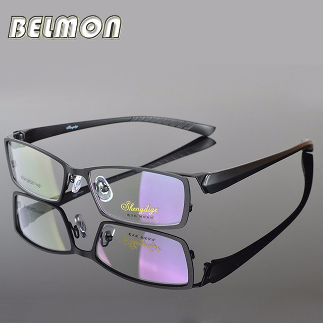 30b03c11db Spectacle Frame Eyeglasses Men Computer Myopia Optical Eye Glasses Frame  For Male Transparent Clear Lens Armacao