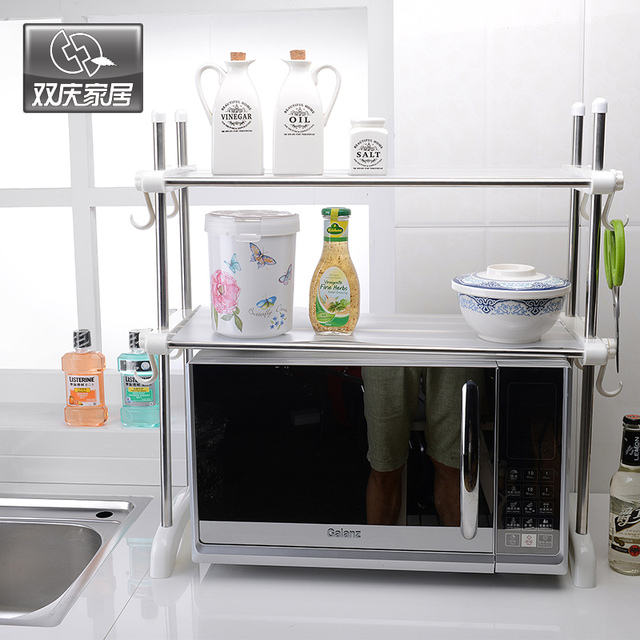 Kitchen Sets Accessories Multi Purpose Microwave Oven Wire Storage