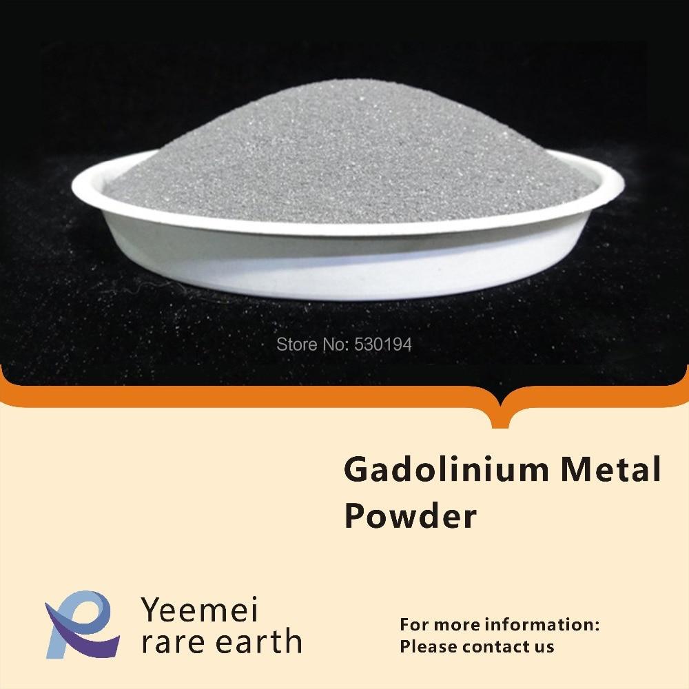 Rare earth metal powder -- 99.9% Gadolinium metal powder rare earth metal 99 9% dysprosium metal
