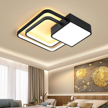 Nordic led lamps modern minimalist creative personality home black and white acrylic study room lamp living room ceiling lamp minimalist modern creative personality living room bedroom lamp study different circular ceiling decorated nordic led